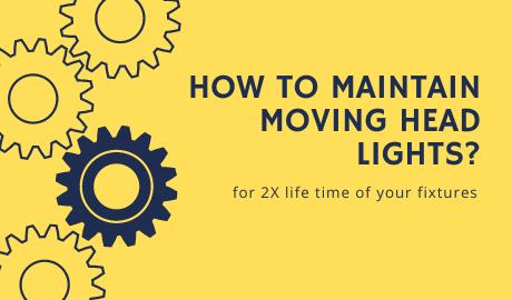 How to Maintain Moving Head Lights? mokasfx.com