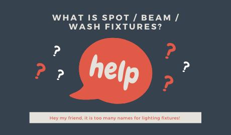 What is SPOT / BEAM / WASH Fixtures? mokasfx.com